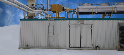 Modular Containerized Power Plant